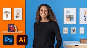 Effizientes Design: optimiere deinen Workflow mit Illustrator und Photoshop . A Design course by Valeria Dubin