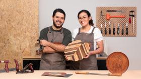 Carpintería básica: crea piezas combinando maderas. Un curso de Craft de Estudio Caribe