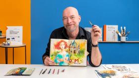 Sketching artístico en acuarela: atrévete a expresar tus ideas . Un curso de Ilustración de Felix Scheinberger