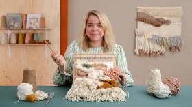 Técnicas de telar para principiantes. Un curso de Craft de Lucy Rowan