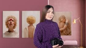 Editorial-Fotoporträt: Licht und Kreativität . A Fotografie und Video course by Natalia Gw