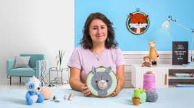 Punch Needle and Crochet: Create Original Characters. A Craft course by Jocelin Gonzalez