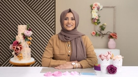 Flores de azúcar para cake design. Un curso de Craft y Diseño de Nasima Alam