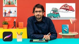 Ilustración animada con Procreate: cuenta una historia en movimiento. Un curso de Ilustración, 3D y Animación de Martín Tognola