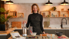 Création de textures avec du chocolat. Un cours de Design , et Craft de BRIK chocolate