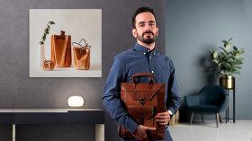 Diseño de accesorios en cuero sin costuras. Un curso de Diseño y Moda de Adolfo Navarro