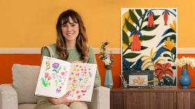 Ilustración y diseño de patrones florales. Un curso de Ilustración de Tatiana Boyko