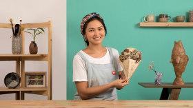 Techniques de base du modelage décoratif en céramique. Un cours de Craft de Kiara Hayashida