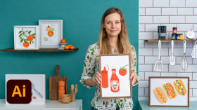 Illustrated Recipes: Making Delicious Art. A Illustration course by Melanie Chadwick