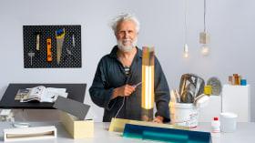 Diseño y construcción de lámparas de resina. Un curso de Craft de Studio Nucleo - Piergiorgio Robino