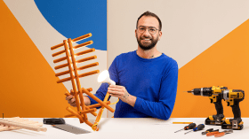 Furniture Design: Make a Wooden Lamp. A Design, and Craft course by Fabien Cappello