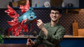 Création de sculptures comestibles. Un cours de Craft de Marc Suárez Mulero