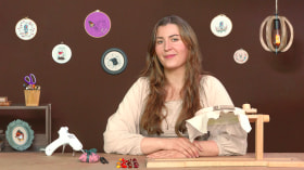 Broderie miniature : créez des bijoux à l'aiguille. Un cours de Craft de Yulia Sherbak