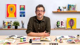 Artist's Notebook: Explore Illustration Techniques. A Illustration course by Jesús Cisneros