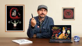 Ilustração infantil para cartazes. Um curso de Ilustração de Luis San Vicente