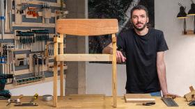 Diseño y construcción de muebles de madera. Un curso de Craft de Danillo Faria