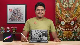 Diseño de personajes para marcas en Procreate. Un curso de Ilustración de Jesús Félix-Díaz