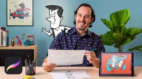 Diseño de personajes estilo cartoon con Procreate. Un curso de Ilustración de Ed Vill