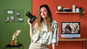 Fotografia de retrato em exteriores para Instagram. Um curso de Fotografia e Vídeo de Helena Palau Arvizu