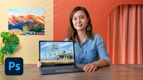 Pintura digital de fondos para animación. Un curso de Ilustración de Susan Yung