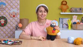 Conception et réalisation de poupées brodées à l'aiguille magique. Un cours de Loisirs créatifs de Caro Bello