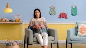 Knitting for Children's Garments. A Craft course by Marta Porcel Vilchez