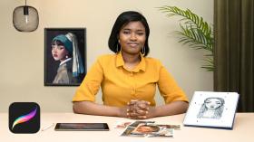 Personajes femeninos poderosos: ilustra la diversidad. Un curso de Ilustración de Eunice Adeyi