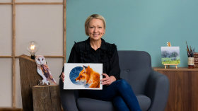 Ausdrucksstarke Tierporträts in Aquarell. A Illustration course by Sarah Stokes