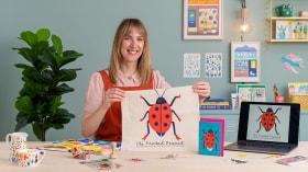 Dall'illustrazione al merchandising: impara a vendere le tue opere. Un corso di Illustrazione, Marketing , e Business di Louise Lockhart