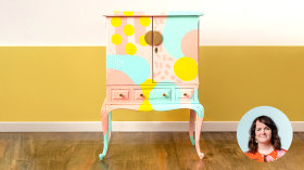 Creative Furniture Upcycling for Beginners. A Craft course by Joanne Condon