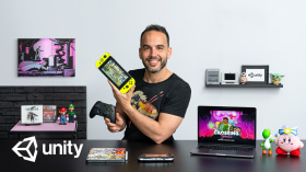 RPG-Videospielentwicklung für Fortgeschrittene mit Unity. A 3-D und Animation course by Juan Diego Vázquez Moreno
