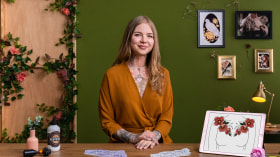 Design de tatuagem botânica com Procreate. Um curso de Ilustração de Jen Tonic