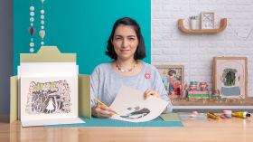Papercut: Verwandle Papier in Szenerien voller Tiefe. A Illustration und Handarbeit course by Noe Arata