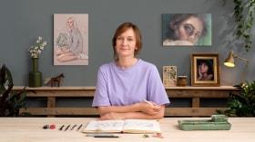 Portrait Sketchbooking: Explore the Human Face. A Illustration course by Gabriela Niko