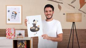 Zeichen- und Collagetechniken für redaktionelle Illustration. A Illustration course by Samuel Castaño