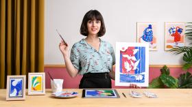 Pintura de vida salvaje con gouache. Un curso de Ilustración de Roxane Campoy