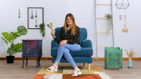 Upcycling de muebles vintage con técnicas de pintura. Un curso de Craft de Chloe Kempster