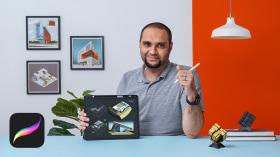 Sketching arquitectónico y artístico con Procreate. Un curso de Arquitectura, Espacios e Ilustración de Ehab Alhariri