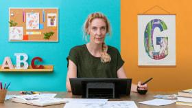 Illustrationen für Kinder: Gestalte eine dekorative Typografie. A Illustration, Kalligrafie und Typografie course by Julia Christians