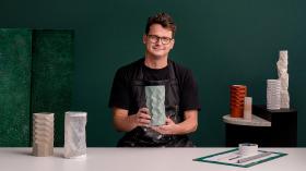 Moldes geométricos hechos a mano: diseña objetos facetados. Un curso de Craft de Phil Cuttance