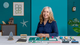 Sketchbook con sellos hechos a mano. Un curso de Ilustración y Craft de Jeanne McGee