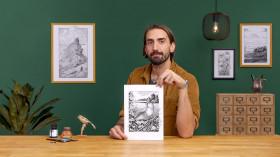 Ilustración con tinta y plumilla: captura el mundo natural. Un curso de Ilustración de Philip Harris