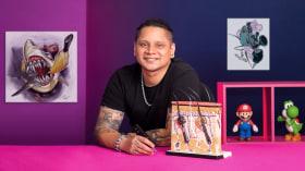 Técnicas de color para tatuajes. Un curso de Ilustración de César Pinto