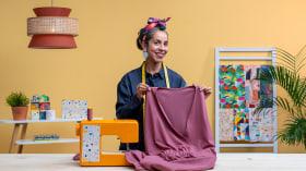 Kleidungsstücke in Einheitsgröße designen, schneidern und gestalten. A Handarbeit und Mode course by Laura peSeta