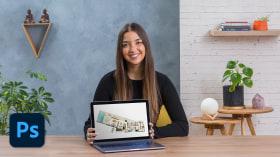 Nachbearbeitung von Bauplänen mit Photoshop. A Architektur und Raumgestaltung course by María José Cilveti Espinoza