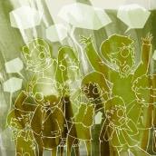 O ladrón de palabras. Un proyecto de Ilustración de Anxo Fariña - 21.07.2009