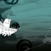 Castillo de Marbel (cuento infantil). Un proyecto de Diseño e Ilustración de Anxo Fariña - 22.07.2009