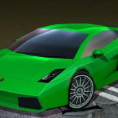Lamborghini Gallardo. Um projeto de 3D de Rob Diaz - 19.12.2010