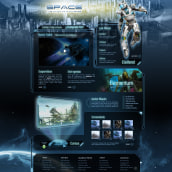 Game Site. Um projeto de Design e UI / UX de José Carlos Martínez Maillo - 28.02.2011
