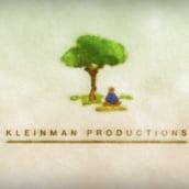 Kleinman productions animación de logo.. Un projet de Design , Illustration, Musique et audio, Motion Design , et Cinéma, vidéo et télévision de Tal Gliks - 03.05.2011